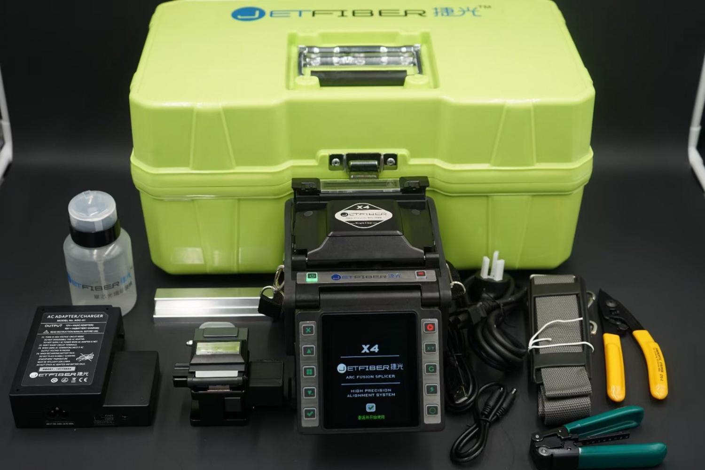 捷光X4單芯光纖熔接機工程機