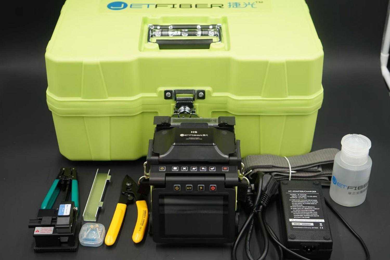 捷光H5皮線光纖熔接機