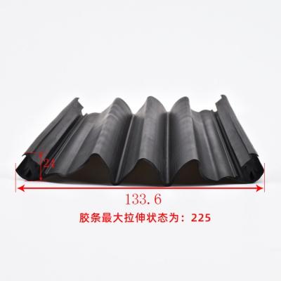 上部密封装置胶条133.6*24 橡胶条厂家