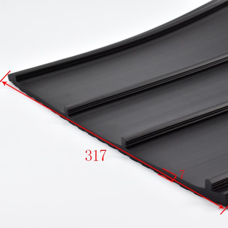 左固定门门槛防滑橡胶板规格尺寸:1213*317*7