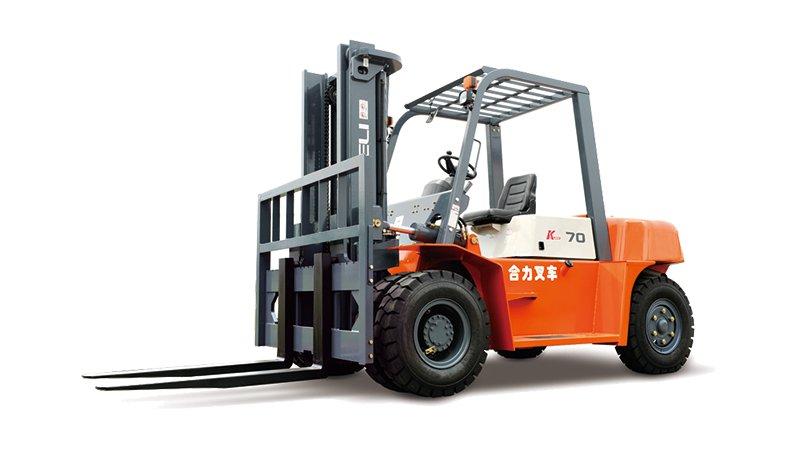 K系列5-7噸柴油平衡重式叉車