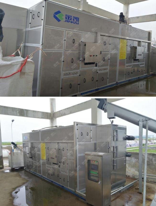污泥处理设备——凯泉化工污泥处理工程案例