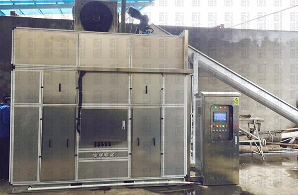 污泥干化處理設備成功取代傳統鍋爐干化