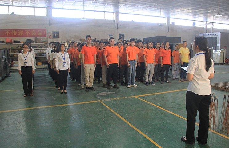 「廣州凱能」9月優秀員工表彰大會