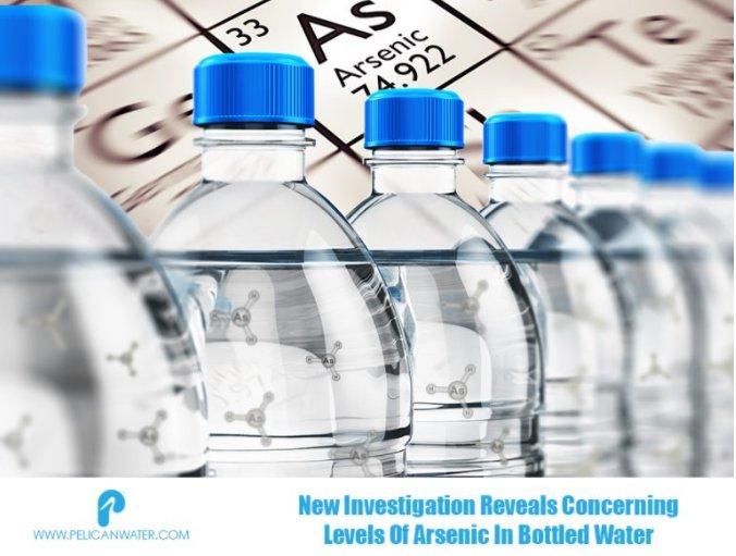 新调查揭示了瓶装水中砷的含量
