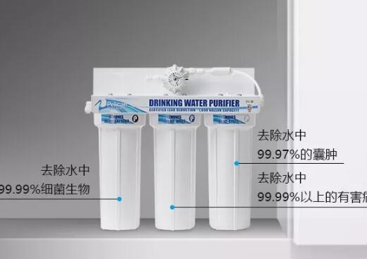 湃能直饮水系统 让水龙头流出安全健康水