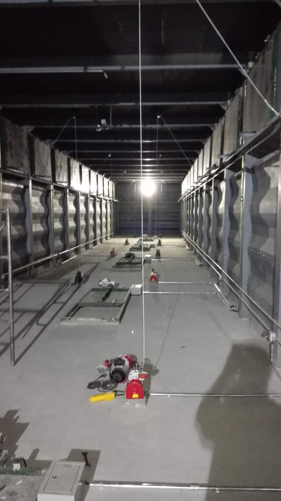 钢构烘干仓二层风道