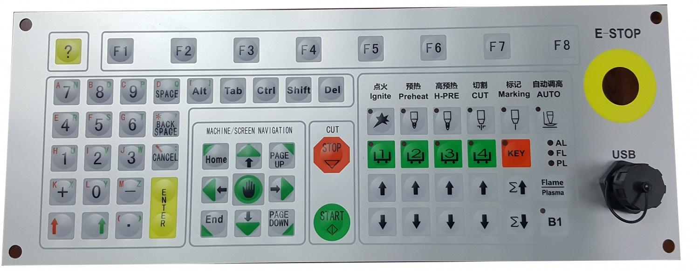 ARM数控等离子、火焰切割控制电路