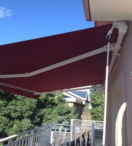 户外曲臂式遮阳篷