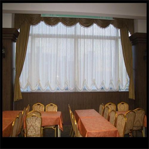 酒店布艺电动窗饰