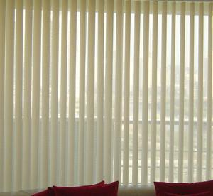 友芳竖百叶窗帘半遮光隔断帘屏风帘客厅卧室阳台办公室垂直百叶帘