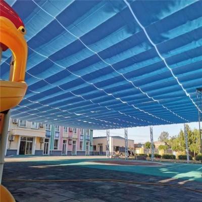 幼兒園游泳池遮陽簾