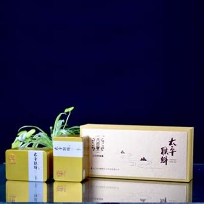 猴魁金色条礼盒