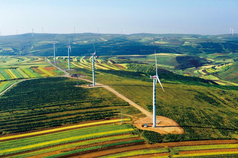 國家風光儲輸示范工程二期擴建張尚風電場 400 兆瓦項目建設項目竣工環境保護驗收調查報告