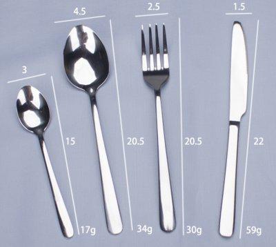 不銹鋼餐具刀叉勺套裝