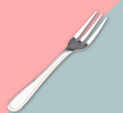 創意炫彩家用水果叉子