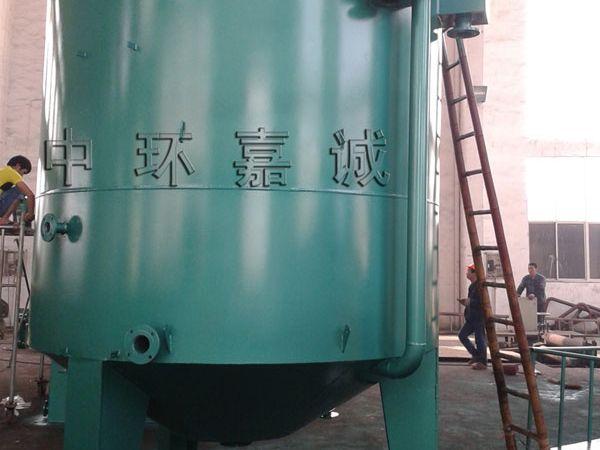 25T/h竖流式气浮生产现场