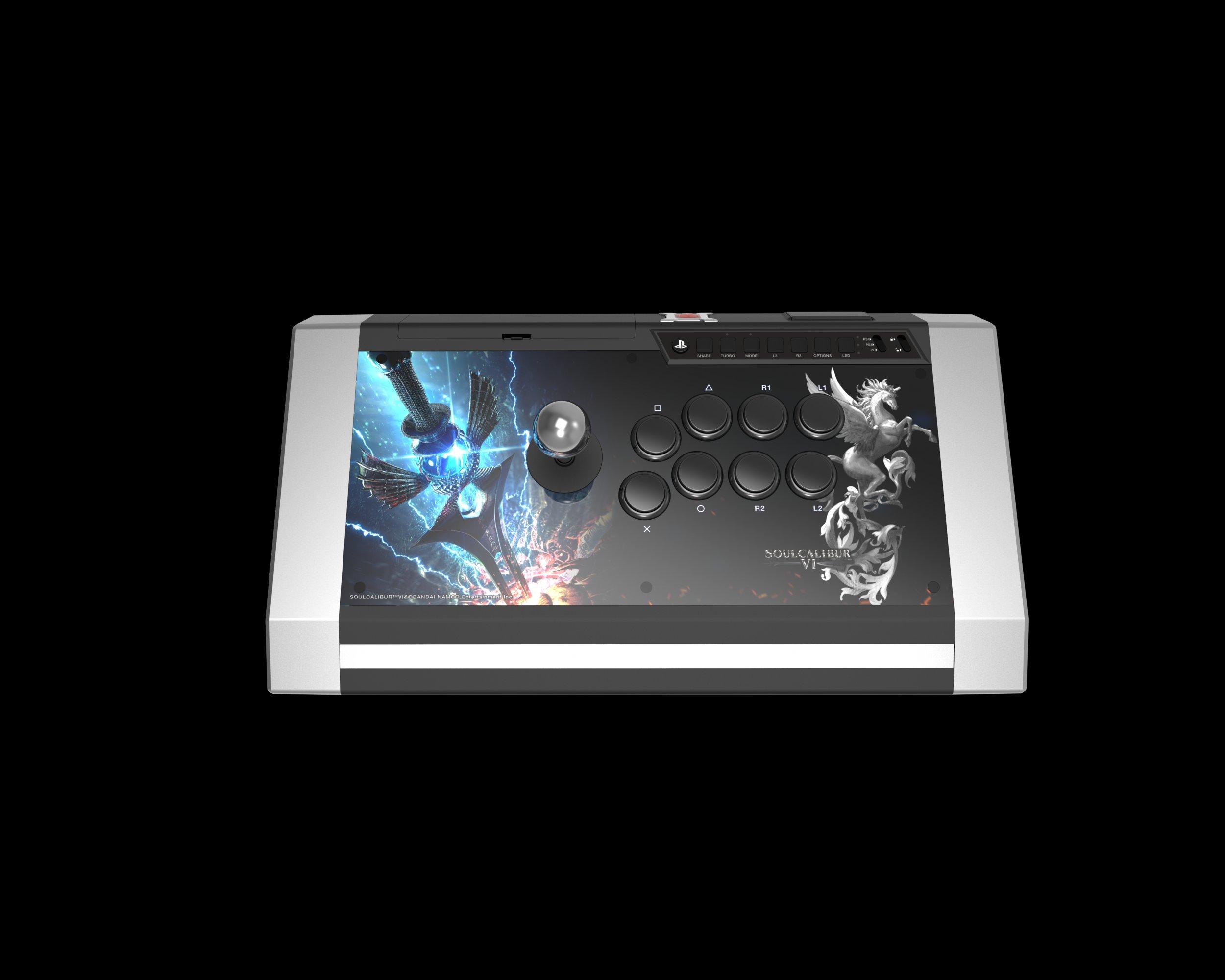 靈魂能力6(Soul Calibur 6)/刀魂6 Q3黑曜石 限定版搖桿 2018年10月18日與游戲同期發售