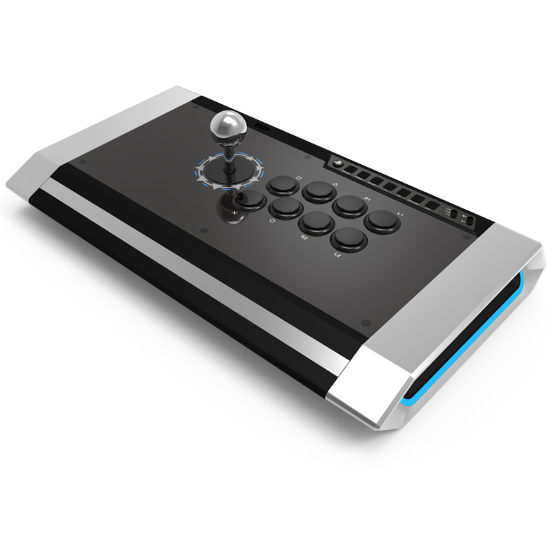 QanBa Q3 Obsidian Arcade Fighting Stick - PS4 PS3 PC