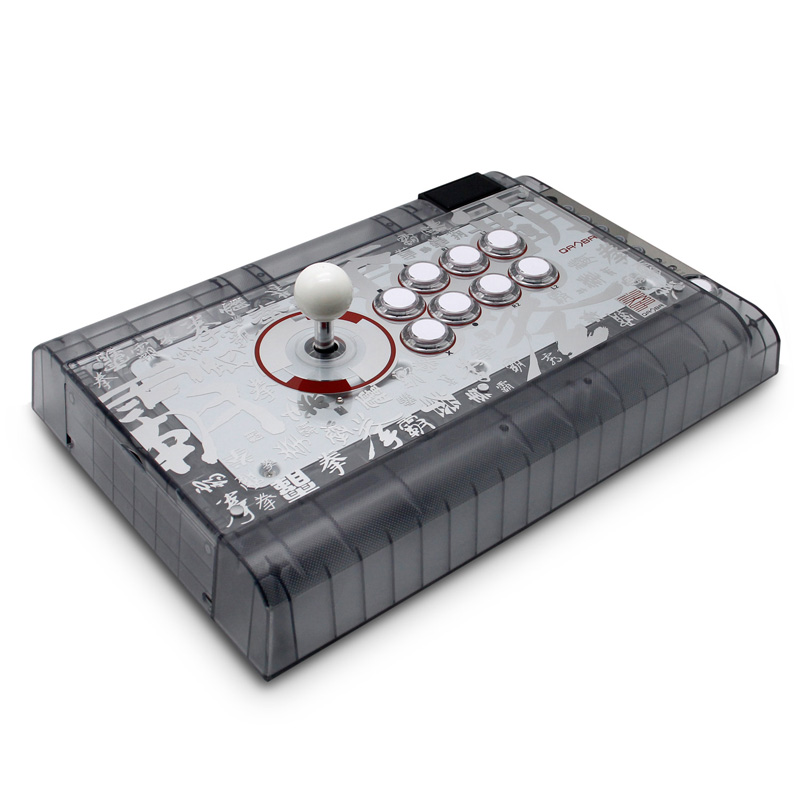 QANBA Q2 Crystal Joystick Arcade Fighting Stick -PS4 PS3 PC