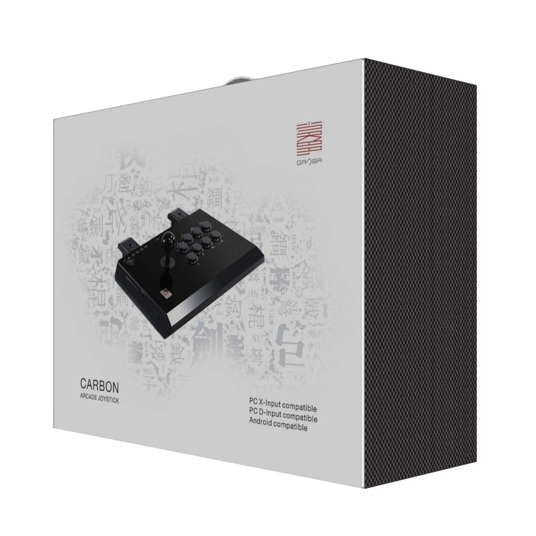 Qanba Carbon JoyStick Arcade Fighting Stick PS3/PC/Android
