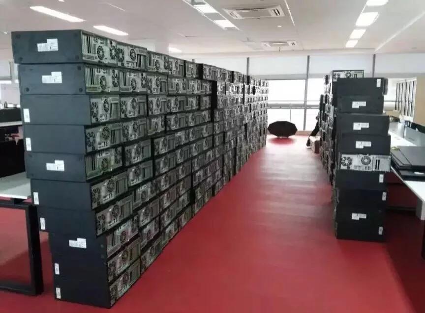 上海服务器回收案例