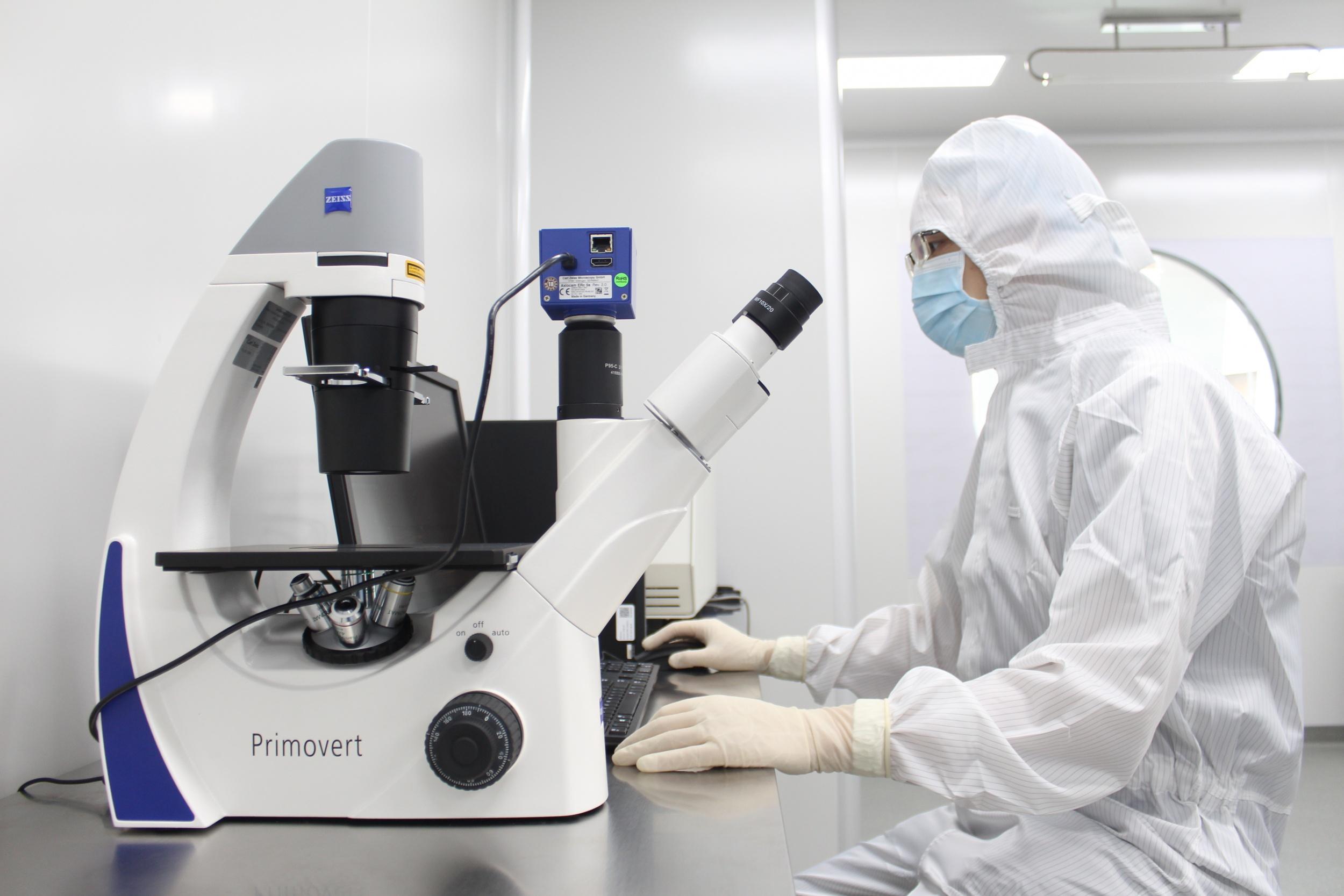 蔡司倒置荧光显微镜