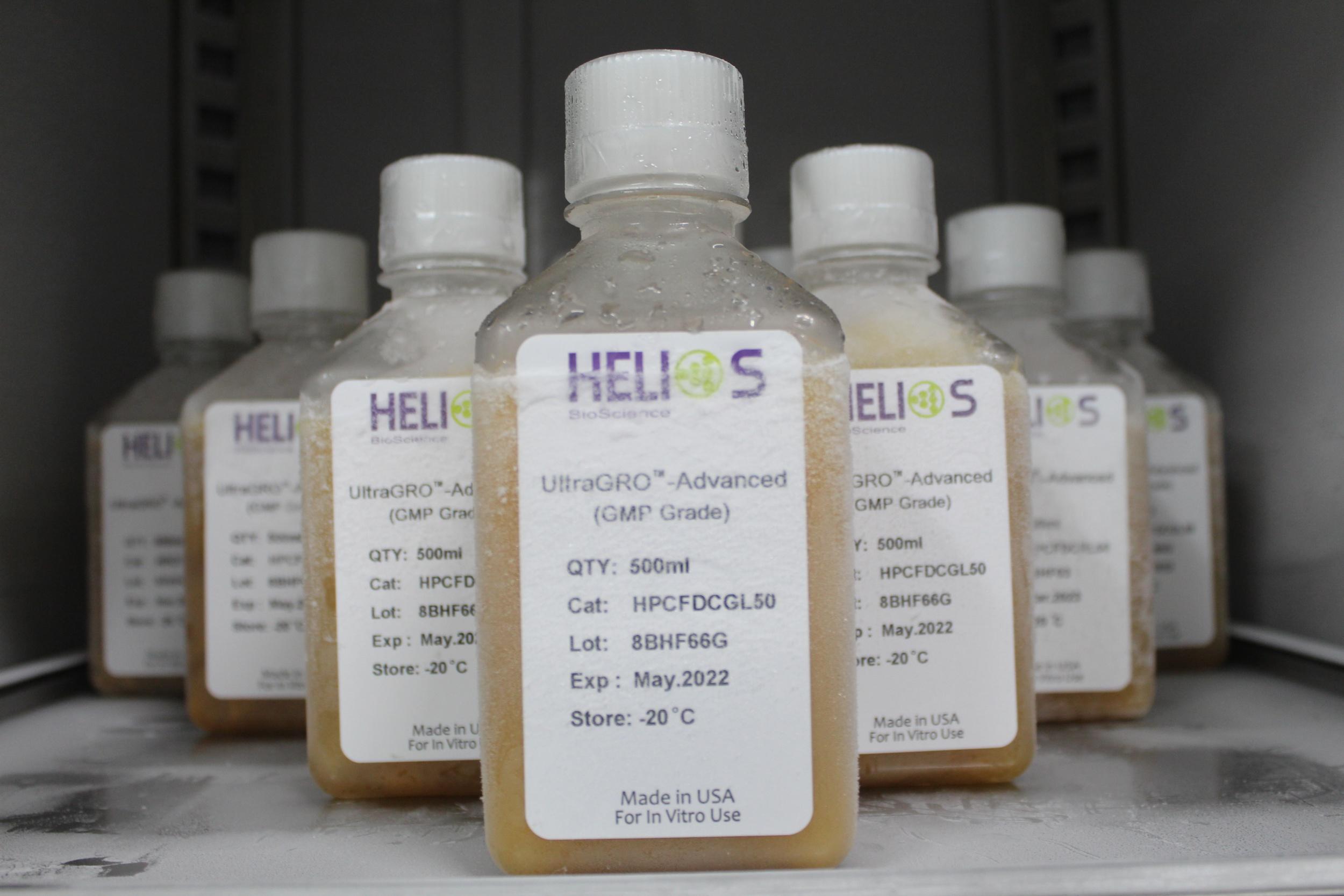 Helios BioScience公司临床级血清替代物