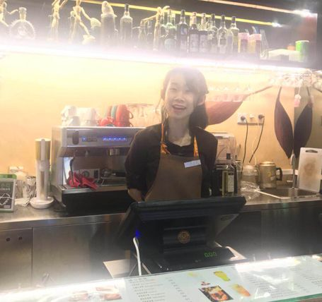 学员陈倩婷——沙面宾馆咖啡师