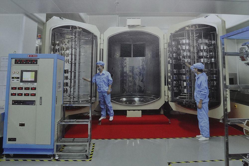 日本川口全自动真空镀生产线