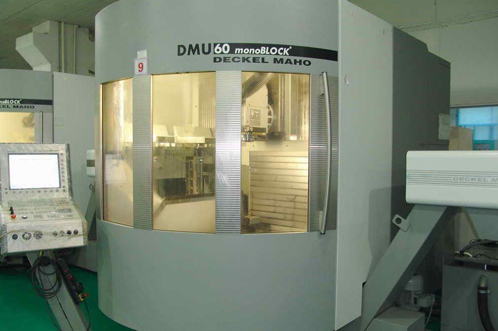德國DMG DMU60萬能型加工
