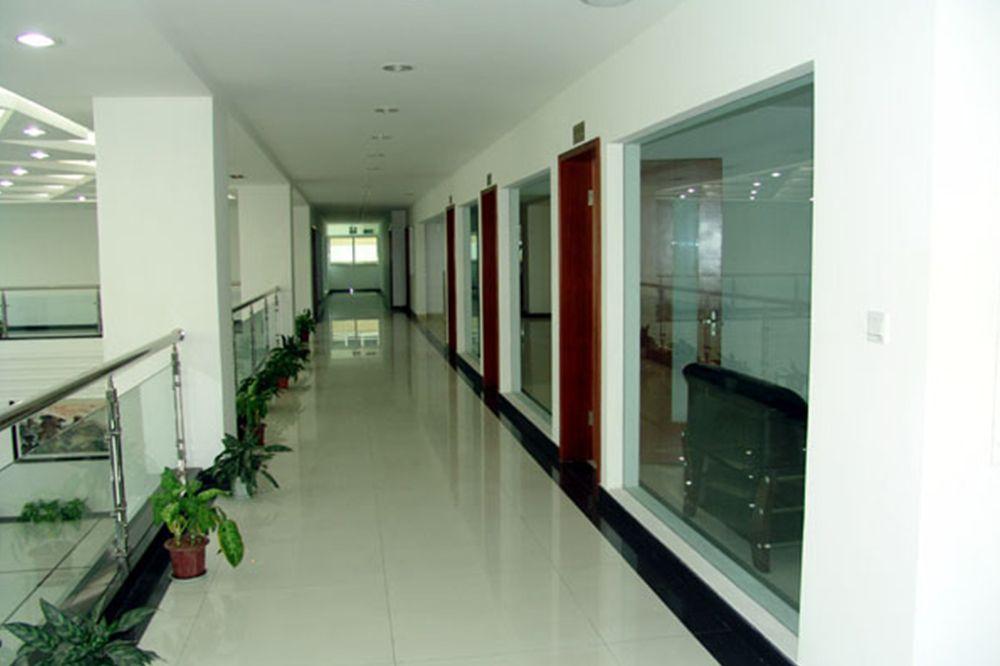 Office building corridor