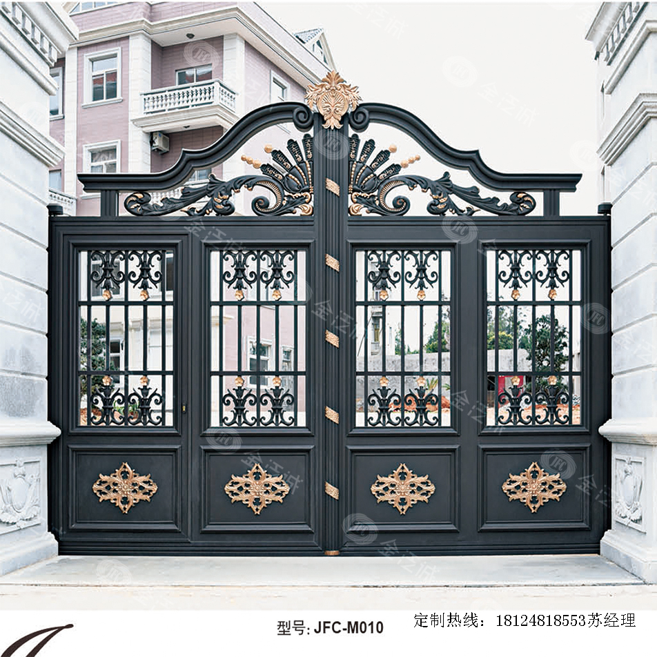 铝艺别墅大门都走进千家万户了,还在用铁艺大门?