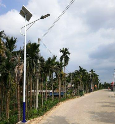 海南省琼海市太阳能路灯照明项目