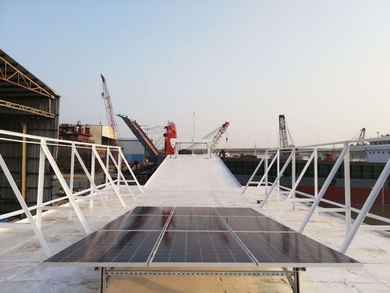 香港观光船光伏储能项目