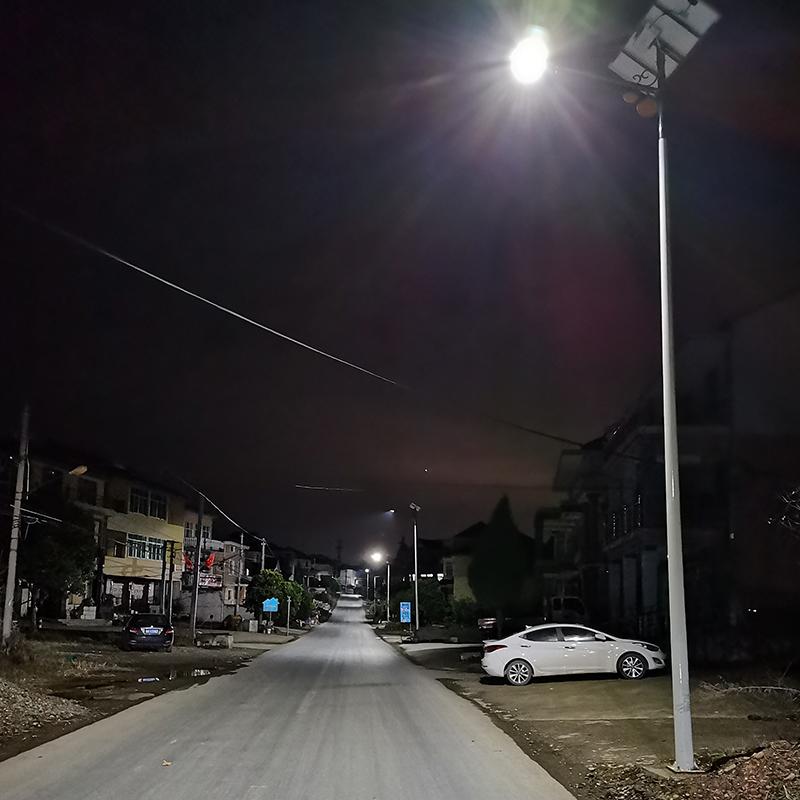 浙江衢州太陽能路燈項目