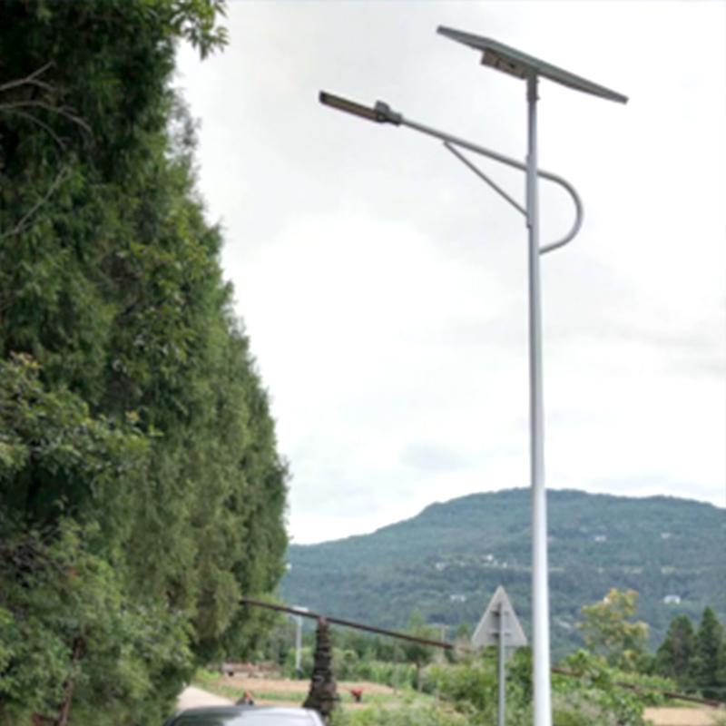 四川蒼溪太陽能路燈項目