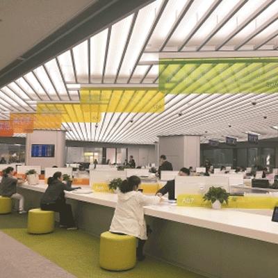 衢州柯城区行政服务中心会议室