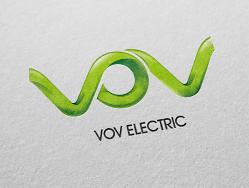 博普电气标志设计