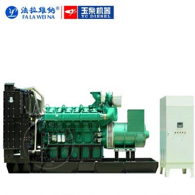 1700KW廣西玉柴YC12VC2700-D31柴油發電機組