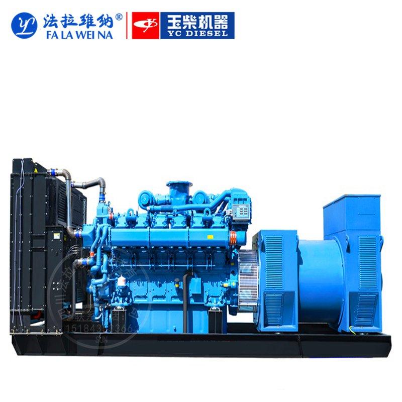 1200KW廣西玉柴YC12VC2070-D31柴油發電機組