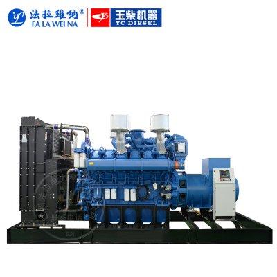 1000kw/廣西玉柴YC6C1070L-D20/柴油發電機組220V380V