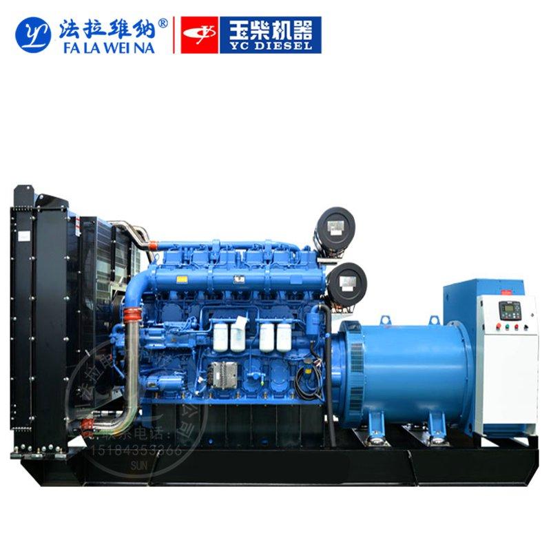 900KW廣西玉柴YC6C1320-D31柴油發電機組