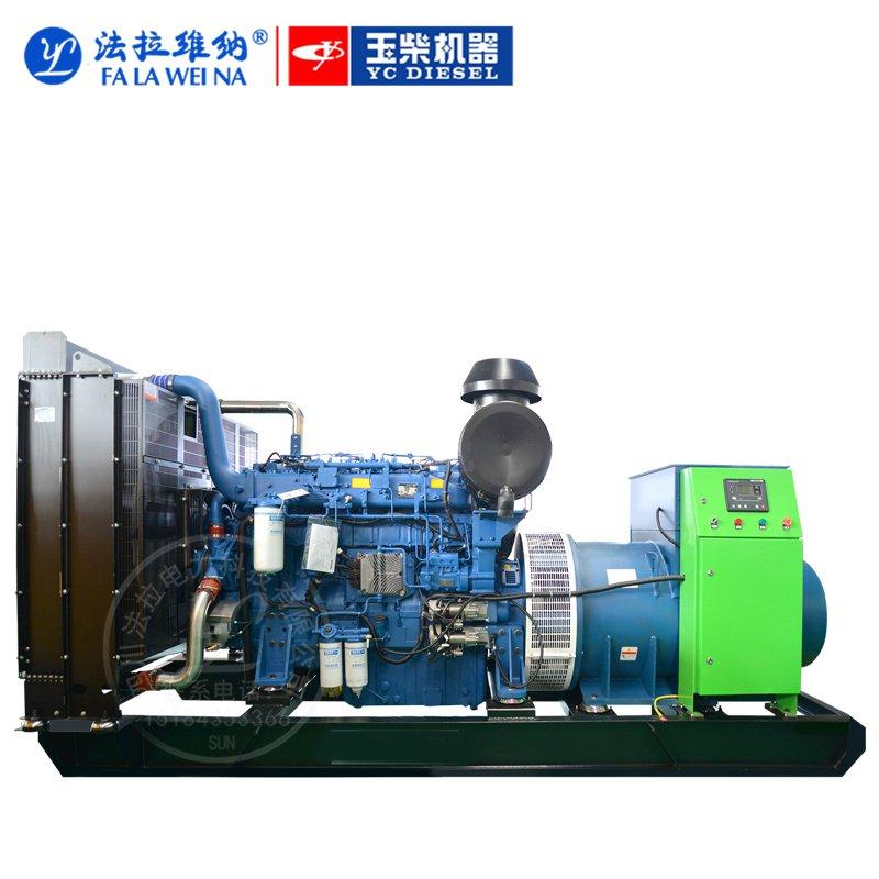600KW廣西玉柴YC6TD900-D31柴油發電機組