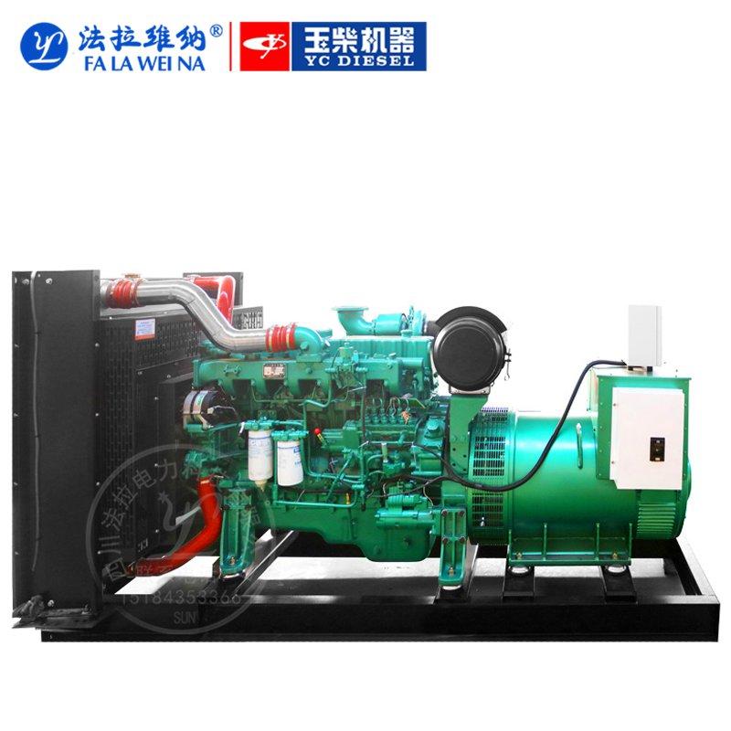 550KW廣西玉柴YC6TD840-D31柴油發電機組
