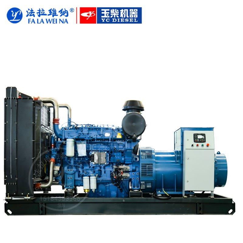 500KW廣西玉柴YC6T700L-D20柴油發電機組