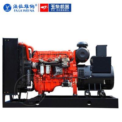 400KW廣西玉柴YC6T660L-D20柴油發電機組