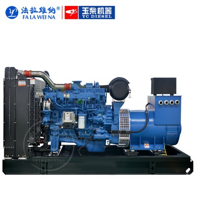 350KW廣西玉柴YC6K500-D30柴油發電機組