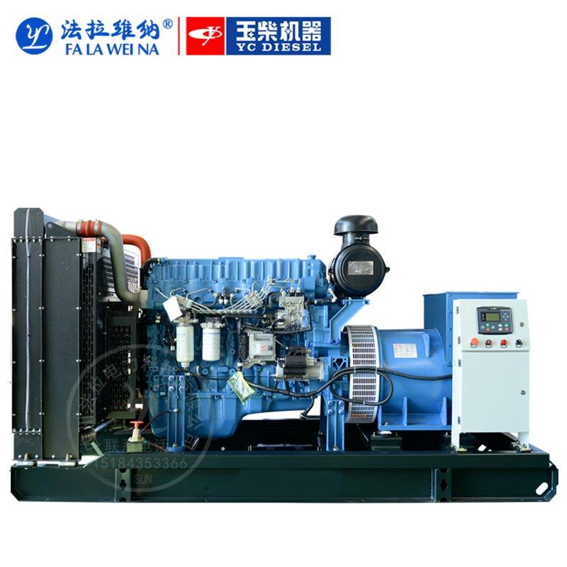 300KW廣西玉柴YC6MK450-D30柴油發電機組