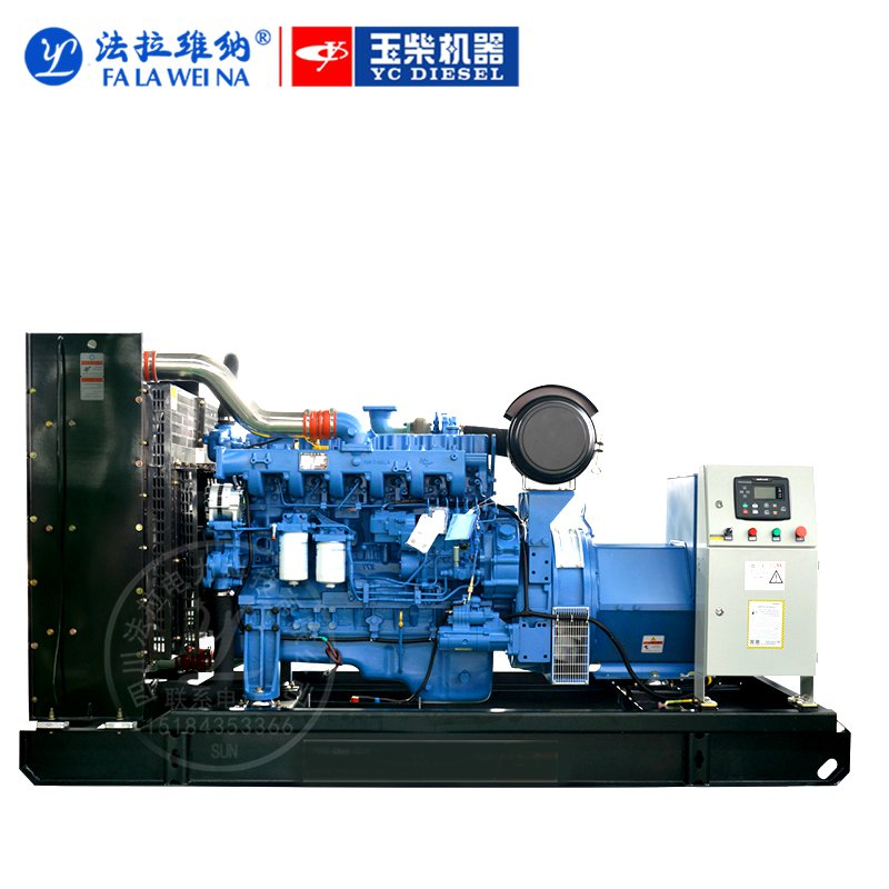 200KW廣西玉柴YC6MK285L-D20柴油發電機組
